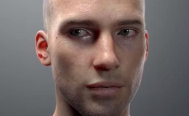 אדם ממוחשב (צילום: יוטיוב)