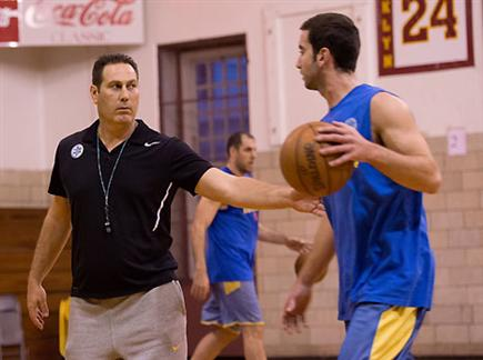 גודס, לא העביר אימון מלא בשל האולם (האתר הרשמי) (צילום: ספורט 5)