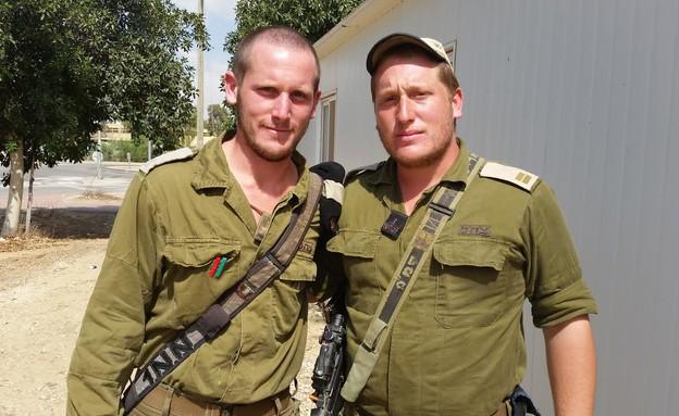 """החיילים במשפחת ברוס (צילום: דובר צה""""ל)"""