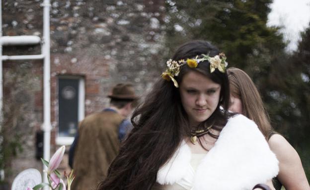 התחתנה עם עצמה (צילום: ניק קונרד)