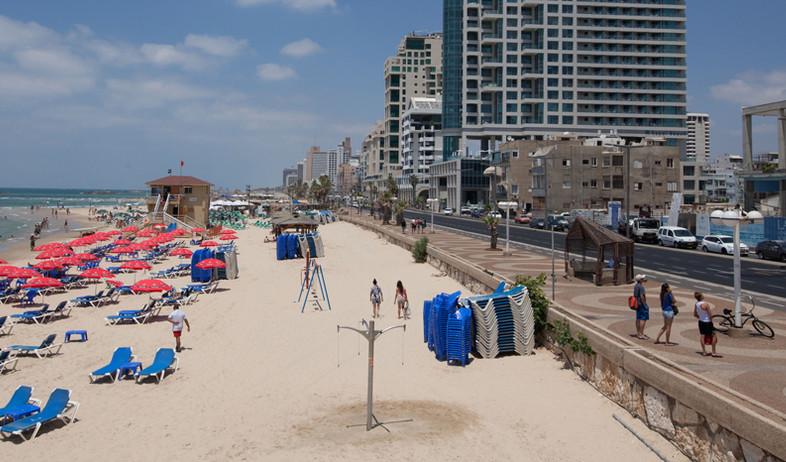 הבניין האחרון על חוף ת''א  (צילום: דור נבו)