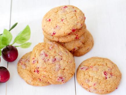 עוגיות דובדבנים (צילום: שרית נובק - מיס פטל, אוכל טוב)