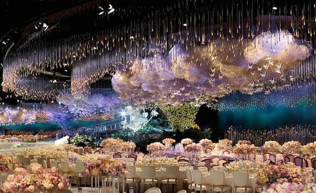 תקרה בחתונה (צילום: designlab)