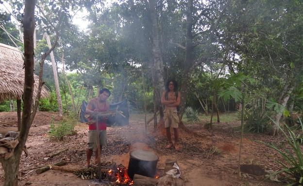 הכנת איואסקה בפרו  (צילום: ahuascacuscoperu.com)