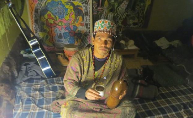 שאמאן פרואני (צילום: ahuascacuscoperu.com)