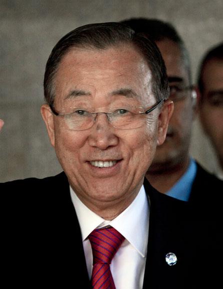 """מזכ""""ל האו""""ם, באן קי מון, רמאללה (צילום: חדשות 2)"""