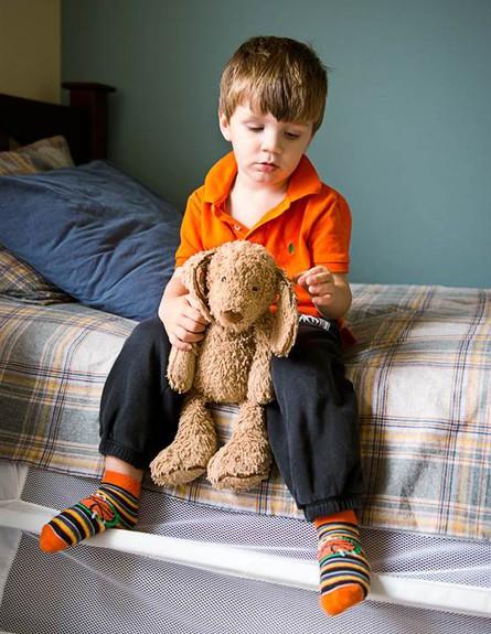 ילדים ושמיכות המעבר שלהם (צילום:  Anna Ream Photography אנה רים)