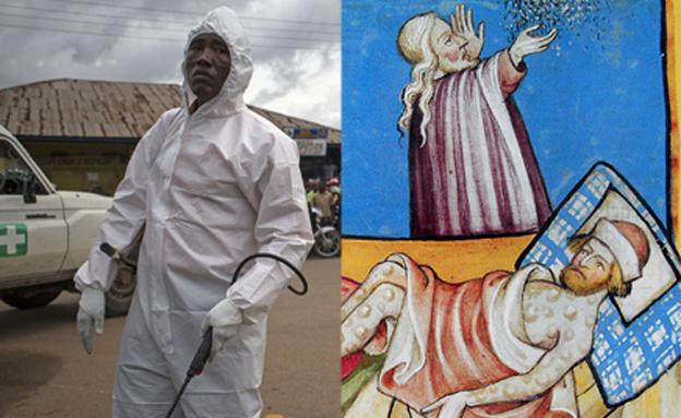 כרוניקה של מגיפות: מהכולרה ועד לאבולה (צילום: איי פי)
