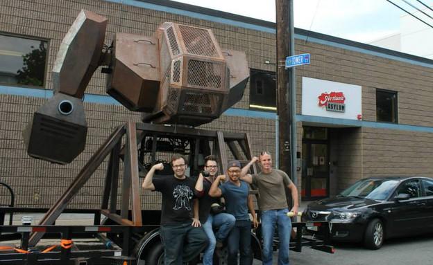 MegaBot Mark I, הרובוט הענק לקרבות העתיד (צילום: MegaBots)