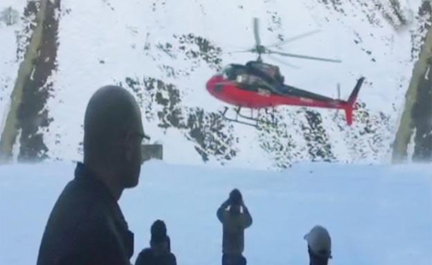 חילוץ, נפאל (צילום: חדשות 2)