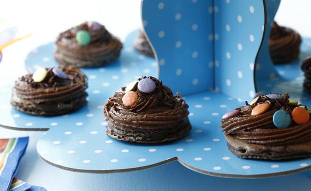 מיני פנקייקס בטעם שוקולד. יום הולדת שמח (יח``צ: אפיק גבאי, אוכל טוב)