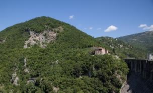נוף בסבינה איטליה (צילום: חיים יוסף)
