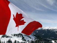 דגל קנדה (צילום: חדשות 2)