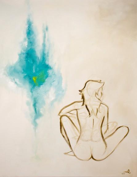 אלינור קלדרון, ציור