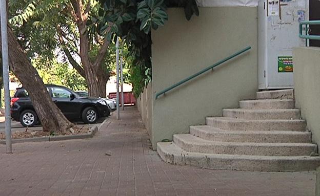 זירת אונס ברחובות (צילום: חדשות 2)