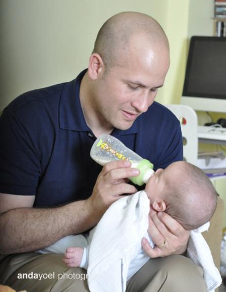 אבות ותינוקות - צילומי סטודיו (צילום: אנדה יואל)