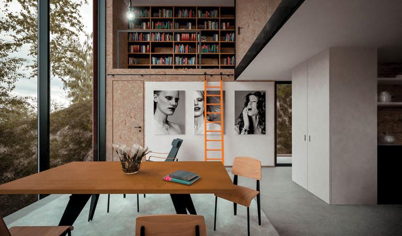 מחצבה (צילום: David Schnabel, Hyde & Hyde Architects)