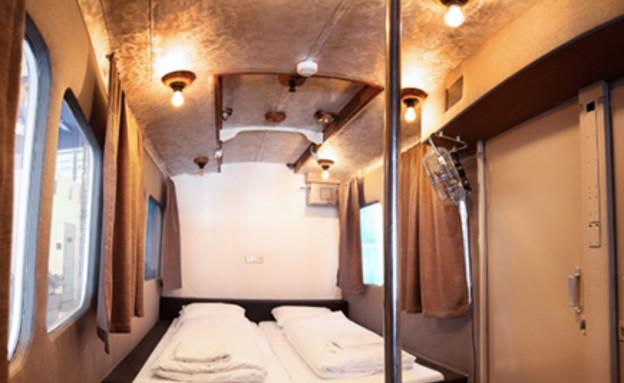 הכי בעולם 27.10, מלון חדר טראם פנים (צילום: CASA NO CASA)