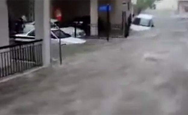 שיטפונות קשים באתונה