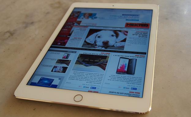 הטאבלט iPad Air 2 (צילום: ניב ליליאן, NEXTER)