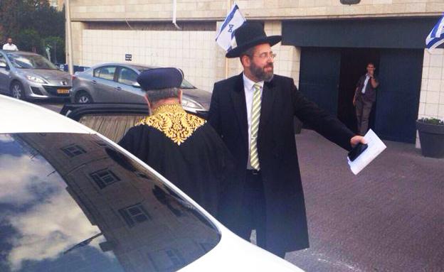 הרבנים הראשיים, היום (צילום: יאיר שרקי)