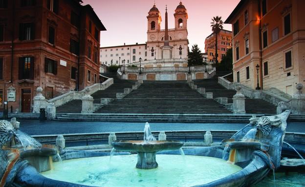 מדרגות הספרדיות רומא