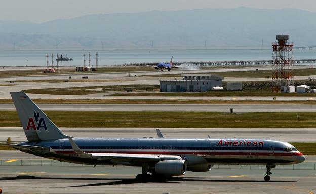 מטוס אמריקן אייר ליינס (צילום: רויטרס)