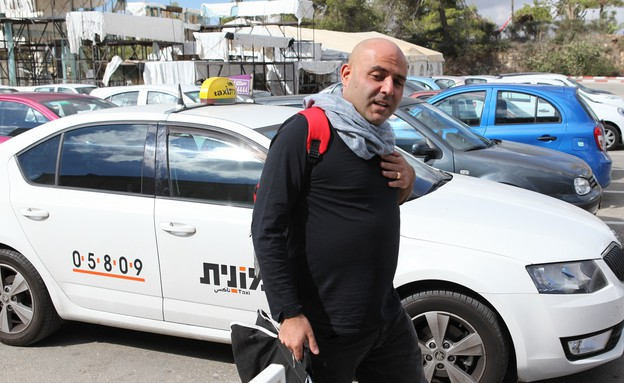 מונית ספיישל לשופט אטדגי (צילום: אורטל דהן)