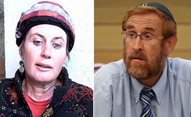 יהודה גליק ואשתו (צילום: פלאש 90, הדס פרוש)