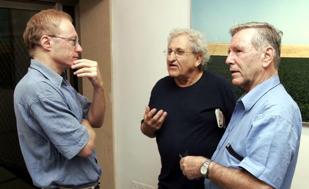 עמוס עוז ודויד גרוסמן (צילום: Getty Images, GettyImages IL)