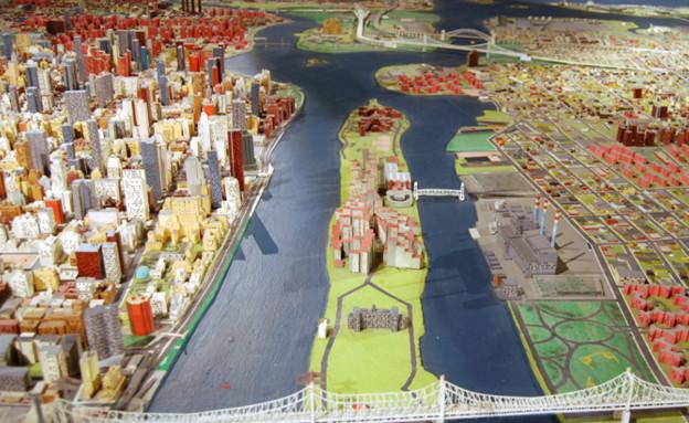 דגם ניו יורק במוזיאון קווינס לאומנות  (צילום: www.queensmuseum.org, האתר הרשמי)