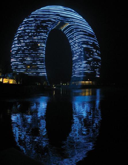 המלון העגול בסין