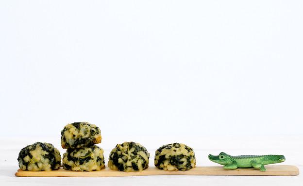 כדורי פתיתים ומנגולד (צילום: שרית נובק - מיס פטל, אוכל טוב)