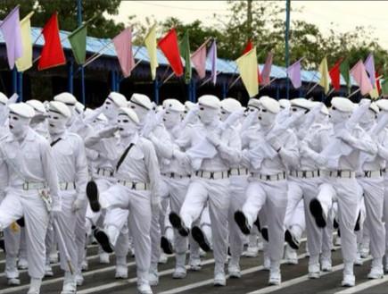 iran army (צילום: the brigade)