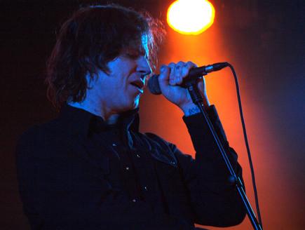 מארק לאנגן, הופעה (צילום: שי שרף)