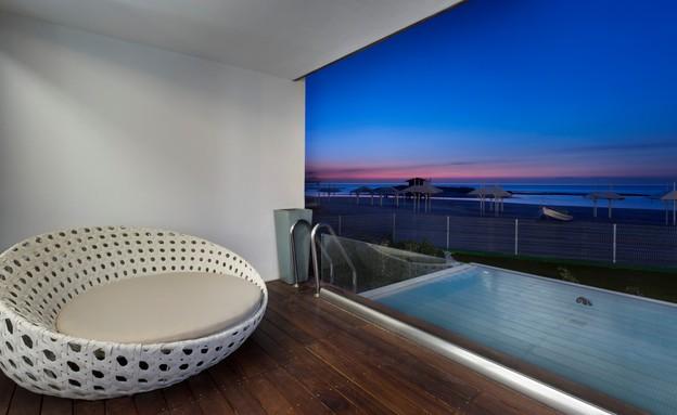מלון חוף נחשולים בוטיק - צילום אסף פינצוק (צילום: אסף פינצוק)