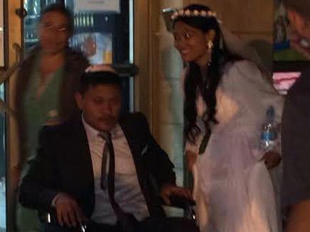 החתן הפצוע ביום שמחתו במרפאה