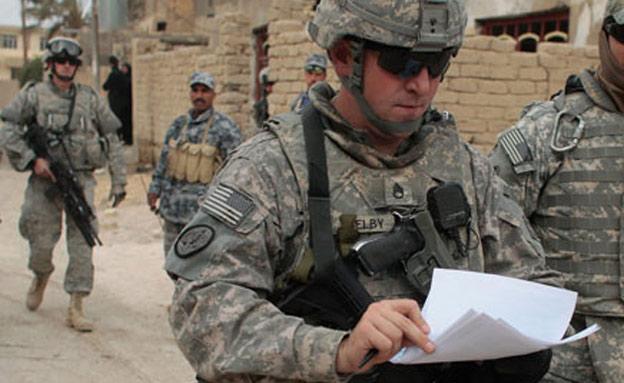כוחות אמריקניים בעירק, ארכיון (צילום: Chris Hondros, GettyImages IL)