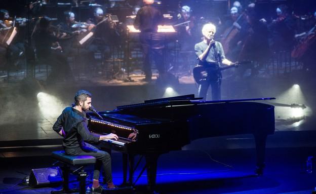 שלומי שבן, שלום חנוך, פסטיבל הפסנתר (צילום: ליאור רוטשטיין)