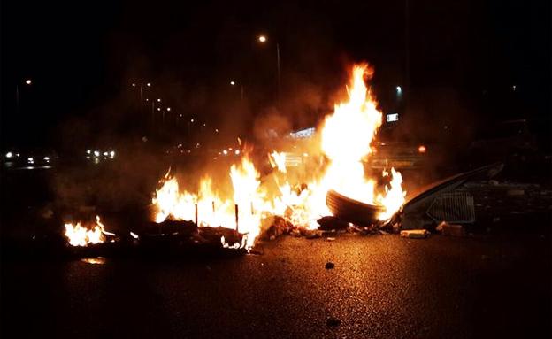 הפגנה בטייבה, ארכיון (צילום: חדשות 2)