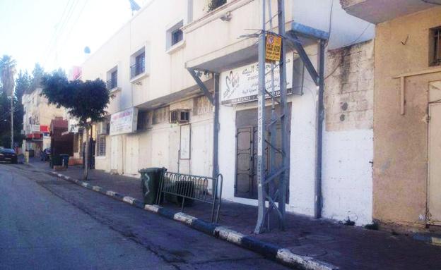 רחובות ריקים בכפרים ובערים, הבוקר (צילום: חדשות 2, פוראת נסאר)