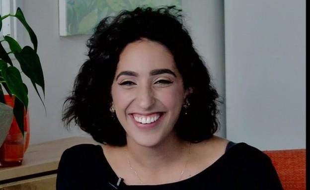 אלמה דישי עונה על השאלות הקשות (תמונת AVI: מתוך אנשים, שידורי קשת)
