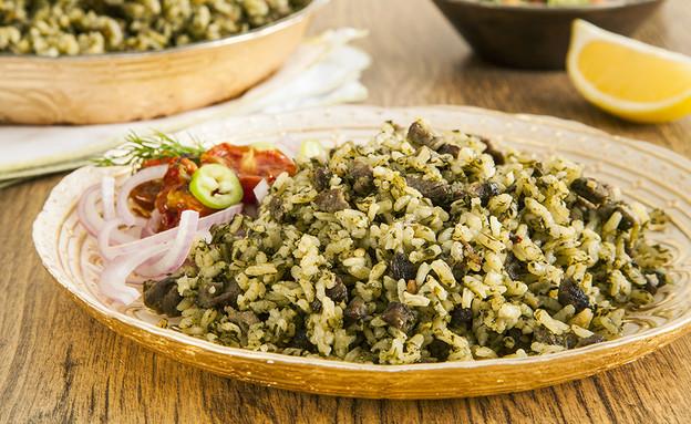 באכש, אורז בוכרי (צילום: אסף אמברם, אוכל טוב)
