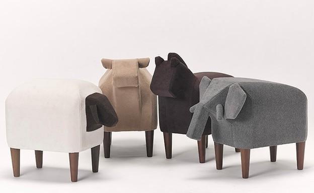 החמישייה 10.11, שרפרפי חיות, cementdesign (1) (צילום: cementdesign )