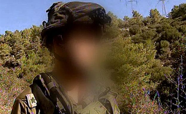 מפקד סיירת אגוז שנפצע - חזר לשטח (צילום: חדשות 2)