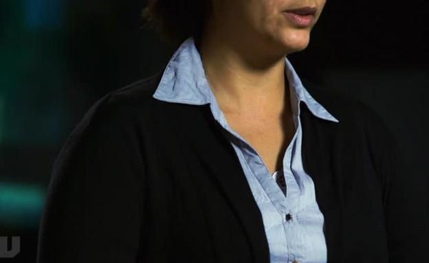 """אשת שב""""כ דרום, נחשפת לראשונה (תמונת AVI: מתוך חדשות 2)"""