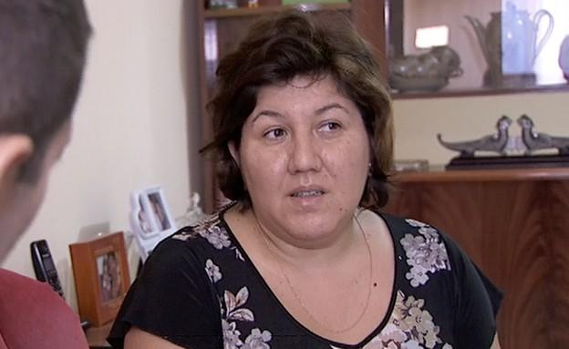 אשתו של רומן זדורוב (תמונת AVI: מתוך אנשים, שידורי קשת)