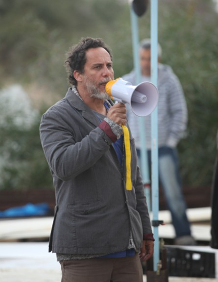 רני בלייר בשביתה (צילום: איתן ברנט באדיבות יס)