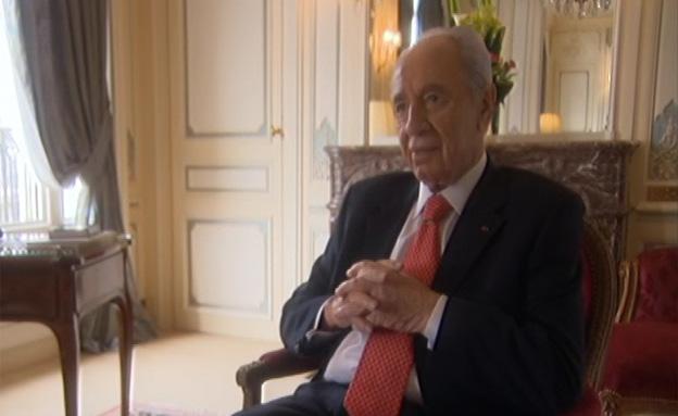"""הנשיא לשעבר פרס: """"אמרו שאין שום יכולת לבנות כור"""" (צילום: חדשות 2)"""