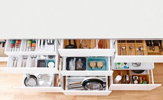 המתאימה לכל סוגי המטבחים בגימור עץ או לבן לחלוקה (צילום: יחצ Variera)